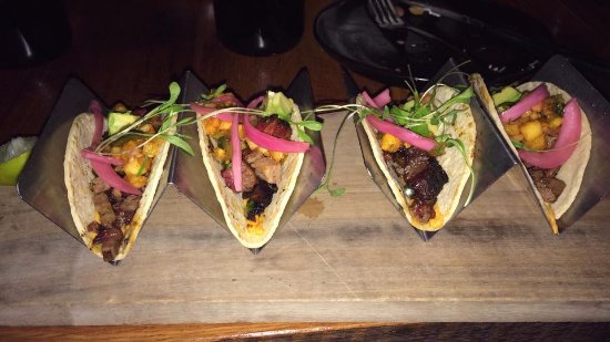 North Aurora, IL: Brisket tacos made with their own smoked brisket.