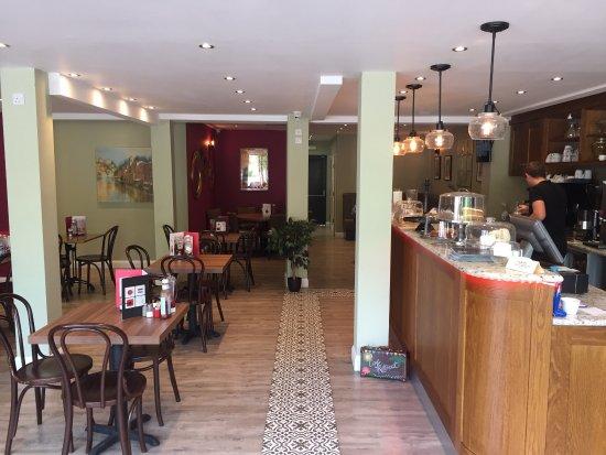 Tadley, UK: Cafe retreat