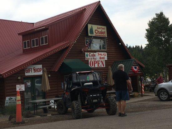Duck Creek Village, UT: Front of Aunt Sue's
