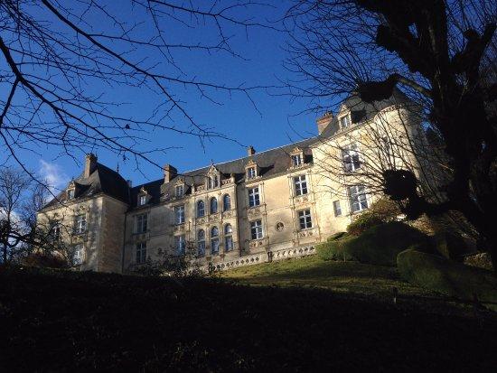 Domaine de Villeray : Vue de château extérieure