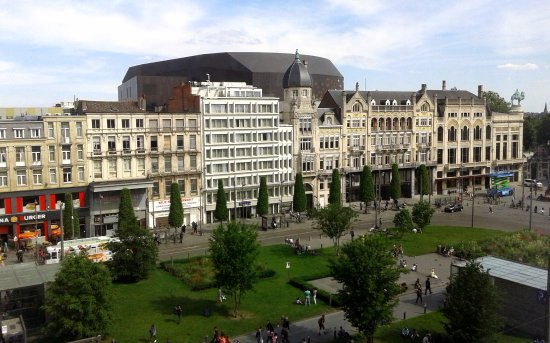Het Astridplein Picture Of Hotel Indigo Antwerp City Centre Tripadvisor