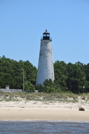 Georgetown, Carolina del Sud: Lighthouse still in operation (July 2017)