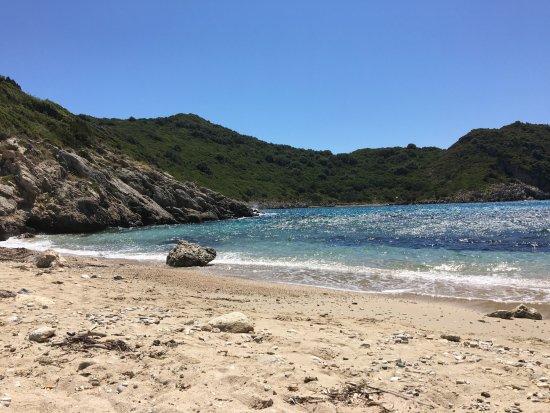 how to get to porto timoni beach corfu