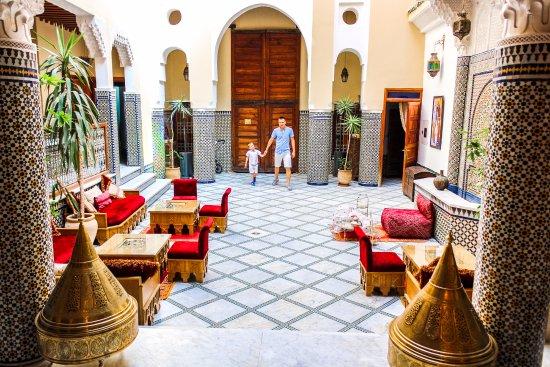 Riad-Boutique Borj Dhab Fez: Patio