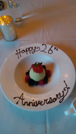 Lafayette Restaurant: A very nice touch