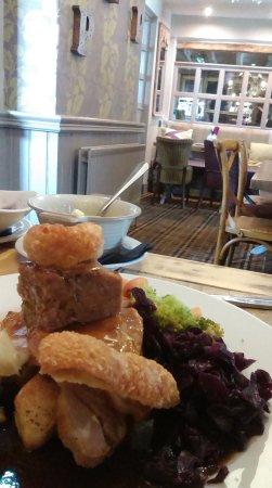 The Pickled Plum: Roast pork Sunday lunch