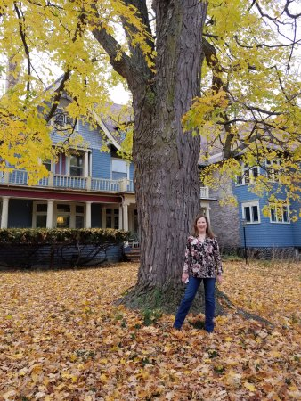 Alma, MI: Saravilla in fall is so wonderful!