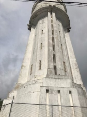 Water Tower: under renovation