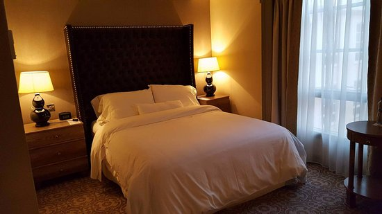 The Westin Dublin: Very comfy bed