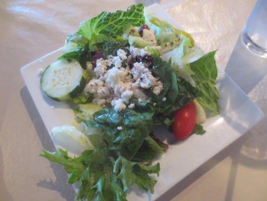 Avon, IN: Both had Greek salads