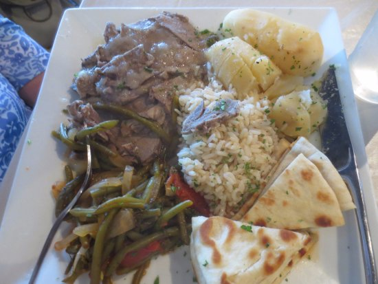Avon, IN: OVEN ROASTED LEG OF LAMB