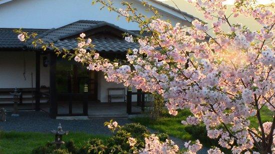 Berceto, Italië: L'entrata della sala di meditazione Zazen