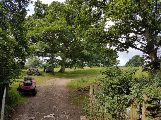 Bishops Castle, UK: Great place for camping