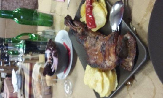 Quintueles, Spanien: Estupenda comida