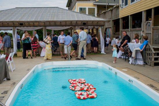 The Inn on Pamlico Sound: Reception area, dance floor & pool