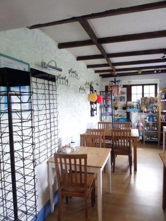 Linkinhorne, UK: Renovated tearoom