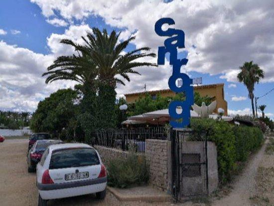Restaurante Can Roig : Restaurante junto a la playa