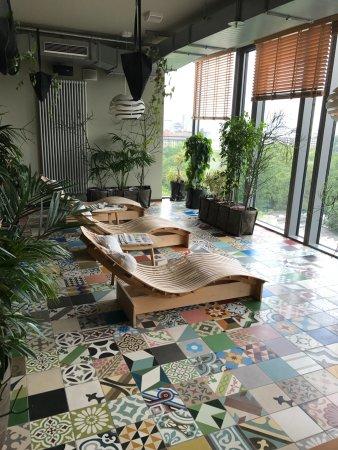 Lounge ved sauna - Picture of 25hours Hotel Bikini Berlin, Berlin ...