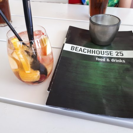 Beachhouse 25: witte sangria