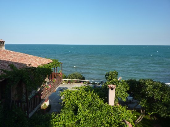 St. Stefan Boutique Hotel  Sunny Beach   BOJ: View from room 302