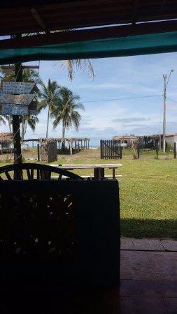 Playa Las Lajas, Panamá: View of ocean
