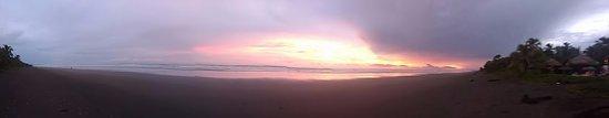 Playa Las Lajas, Panamá: Las Lajas Sunset