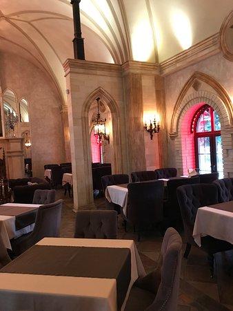 Задонск замок роз ресторан