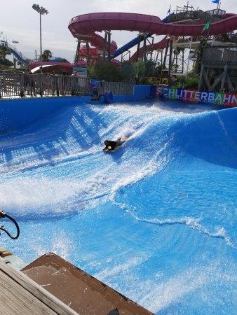 Schlitterbahn Galveston Island Waterpark: The Boogie Bahn!