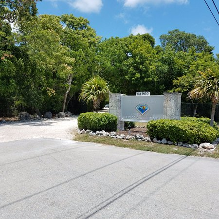 Windley Key Fossil Reef Geological State Park: entrance