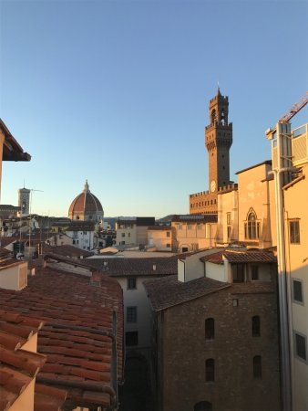 Hotel Degli Orafi: View from roof top bar