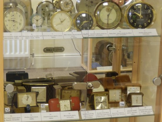 Mr George's Museum of Time: An example of the many timepieces on display
