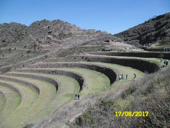 Heiliges Tal der Inka (Urubamba-Tal): Valle Sagrado y sus terrazas