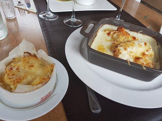Neufchateau, Belgium: Gratin de poisson .. un vrai délice. . Poisson frais et chair ferme
