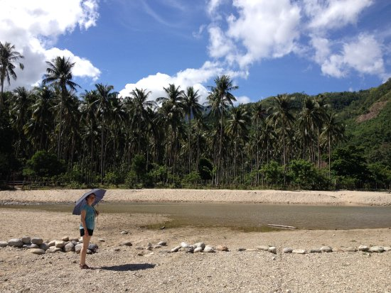 Abra de Ilog, Filippinene: Sun protection recommended