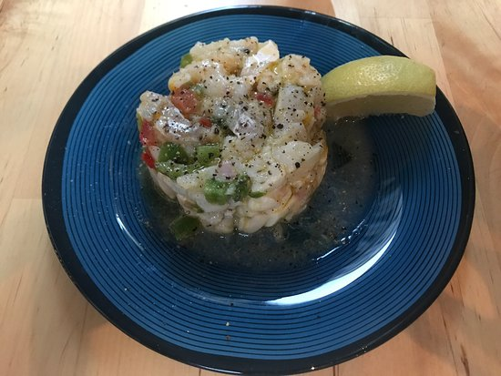 Chez Toto: Spanish cod salad, delightful
