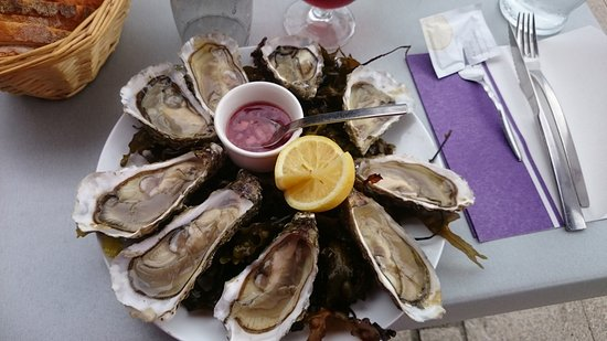 Auberge du Quai: les huîtres