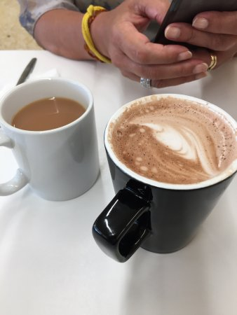Cup of Tea & Hot Chocolate at J Sainsbury's Liverpool 14