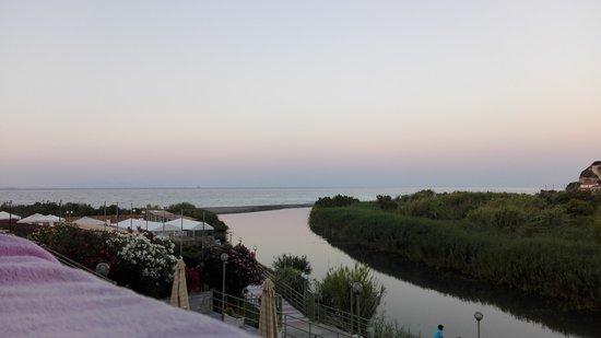 Oxilithos, Greece: Hotel Stomio Beach