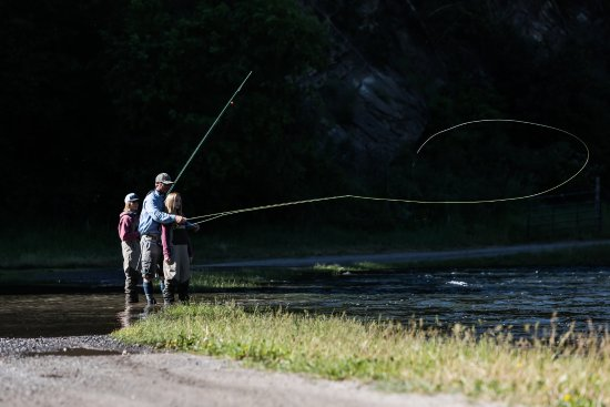 Midway, UT: Fly fishing lessons on the Provo River with Rocky Mountain Outfitters
