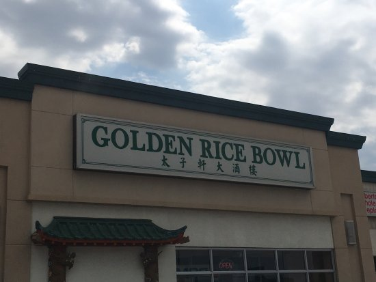 Golden Rice Bowl Edmonton Calgary Trail North Menu