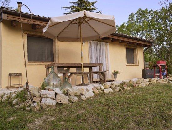 Penna San Giovanni, Italia: Vakantiehuisje Casa Vista