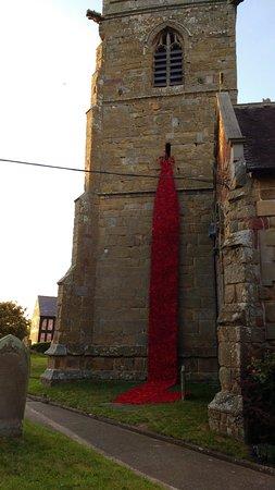 Loppington, UK: Worth a walk around the old church