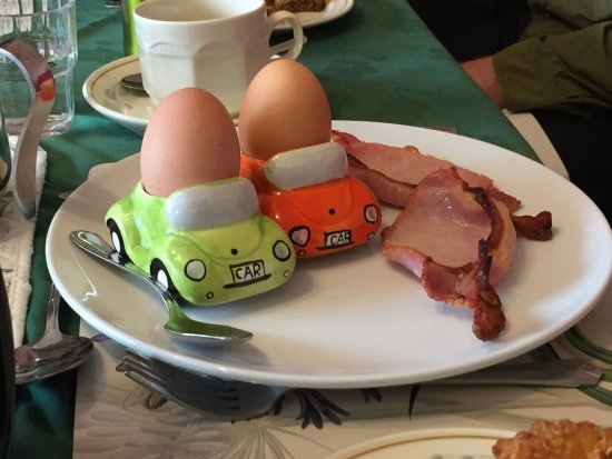 Brownes Bed & Breakfast Dingle: how do you like your eggs?