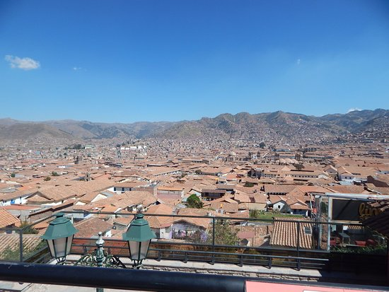 Hostal Resbalosa: Una de las vistas desde la terraza