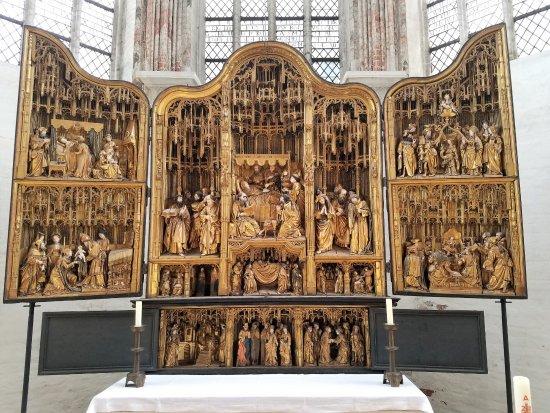 Marienkirche : Antwerp Altarpiece Fully Open