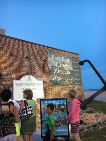 Fort East Martello Museum : Where Robert The Doll is