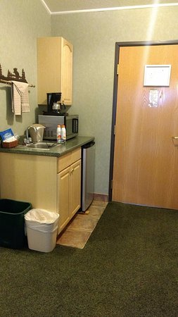 Crooked River Lodge : Mini-kitchen area