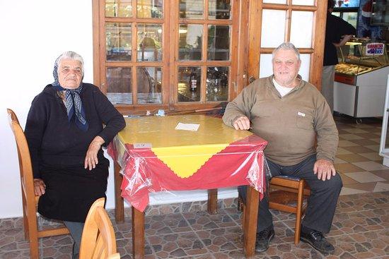 Agios Prokopios, Griekenland: Παππούς Γιαγιά