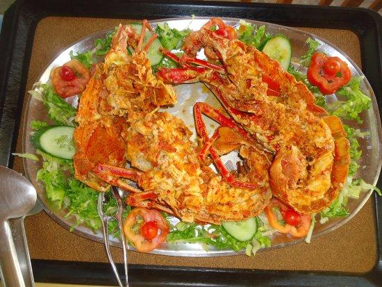 Agios Prokopios, กรีซ: Famous for our Lobster Spaghetti