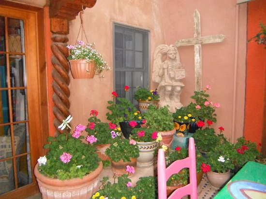 La Dona Luz Inn, An Historic Bed & Breakfast: the patio